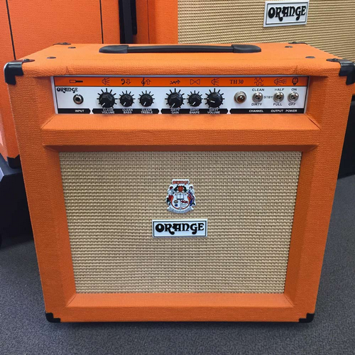 Orange TH30 Twin Channel Guitar Combo 1x12 FREE ORANGE EARBUDS